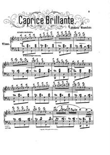 Caprice Brilliant, Op.40: Caprice Brilliant by Frederick Brandeis