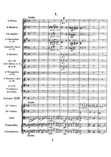 Simphony in D Minor, Op.48: Partitura completa by César Franck