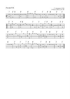 Dix-huit basses danses. Pavane for Lute: Dix-huit basses danses. Pavane for Lute by Pierre Attaingnant