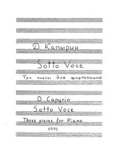 Sotto Voce: Sotto Voce by Dmitri Capyrin