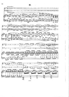 Piano Trio No.2, Op.65: movimento II by Hans Huber