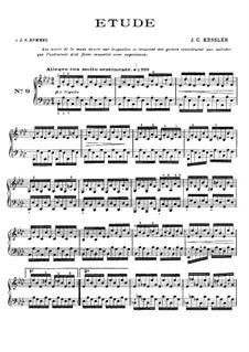 Twenty-Four Etudes for Piano, Op.20: Etude No.9 in A Flat Major by Joseph Christoph Kessler
