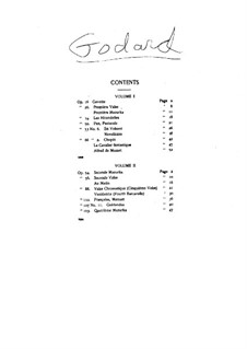 Selected Works for Piano: Volume II by Benjamin Godard