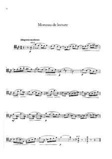 Morceau de lecture: Morceau de lecture by Gabriel Fauré