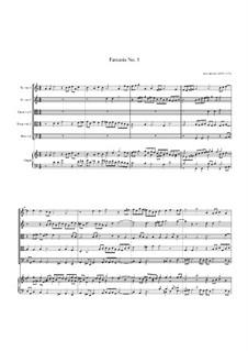 Fantasia No.1, for Five Viols and Organ: Fantasia No.1, for Five Viols and Organ by John Jenkins