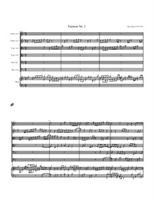 Fantasia No.2, for Six Viols and Organ: Fantasia No.2, for Six Viols and Organ by John Jenkins