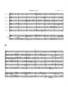 Fantasia No.8, for Six Viols and Organ: Fantasia No.8, for Six Viols and Organ by John Jenkins