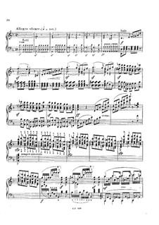 Concerto for Piano and Orchestra in D Minor, Op.137: Movimento III. Arranjo para piano by Alexander Dreyschock