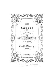 Grand Sonata for Piano in C Minor, Op.20: movimento I by Camille-Marie Stamaty