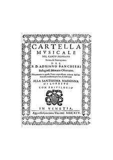 Cartella musicale: Cartella musicale by Adriano Banchieri