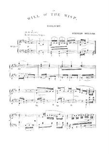 No.9 Irrlicht (Will o' the Wisp): arranjo para piano by Franz Schubert