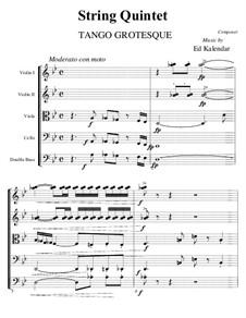 Humorous Tango: Para quinteto de cordas by Edward Kalendar