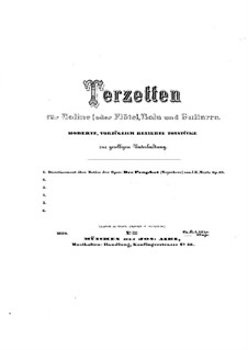 Divertissement on Theme from 'Le prophète' by Meyerbeer, Op.32: Divertissement on Theme from 'Le prophète' by Meyerbeer by Johann Kaspar Mertz
