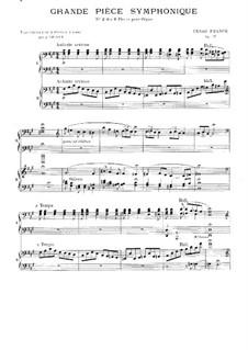Six Pieces for Grand Organ: Grande pièce symphonique, for two pianos four hands, Op.17 by César Franck