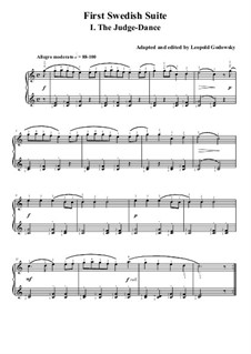 Swedish Suite No.1: Para Piano by folklore
