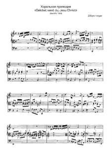 Gelobet seist du, Jesu Christ, BuxWV 189: Gelobet seist du, Jesu Christ by Dietrich Buxtehude