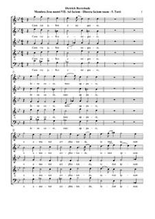 Membra Jesu Nostri (The Limbs of our Jesus), BuxWV 75: No.7 Ad faciem (To the face). Movement V 'Cum me jubes emigrare' by Dietrich Buxtehude