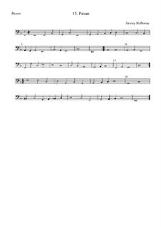 Pavan in F Major for Strings: Pavan by Anthony Holborne