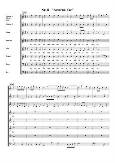 Te Deum, H.146: No.8 Aeterna fac sum Sanctis tuis by Marc-Antoine Charpentier