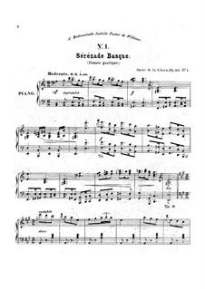 Three Serenades Basgue, Op.113 No.1-3: Three Serenades Basgue by Óscar de la Cinna