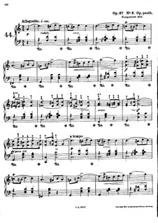 Mazurkas, Op. posth.67: No.3 in C Major by Frédéric Chopin