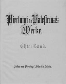 Masses: livro II by Giovanni da Palestrina