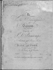 La virtù trionfante, Op.10: La virtù trionfante by João Domingos Bomtempo