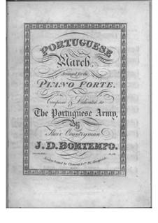 Portuguese March: Portuguese March by João Domingos Bomtempo
