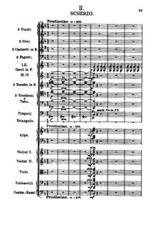 Symphony No.2 in B Minor: movimento II by Alexander Borodin