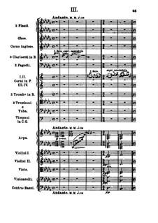 Symphony No.2 in B Minor: movimento III by Alexander Borodin
