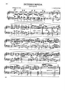 Six Dances for Piano: Six Dances for Piano by Ignacio Cervantes