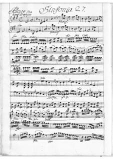Symphony in E Major: Symphony in E Major by Louis Francois Chambray