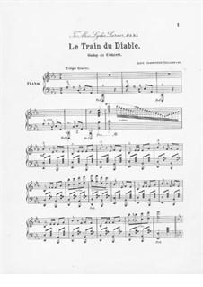 Le train du diable: Le train du diable by Alice Ellen Charbonnet