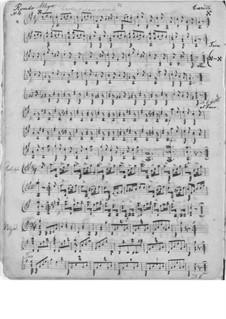 Three Pieces for Guitar: Three Pieces for Guitar by Ferdinando Carulli