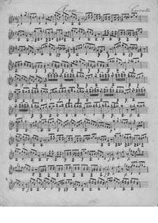 Rondo in D Major for Guitar: Rondo in D Major for Guitar by Ferdinando Carulli
