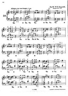 Mazurkas, Op. posth.68: No 3  by Frédéric Chopin