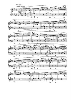 Sonata for Piano No.3 in B Minor, Op.58: movimento II by Frédéric Chopin