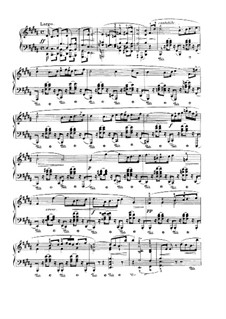 Sonata for Piano No.3 in B Minor, Op.58: movimento III by Frédéric Chopin