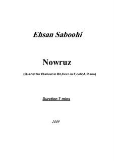 Nowruz: Nowruz by Ehsan Saboohi