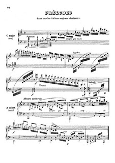 Preludes in All Major and Minor Keys, Op.67: Preludes in All Major and Minor Keys by Johann Nepomuk Hummel