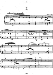 Twelve Piano Pieces, Op.26: peça No.2 by Theodor Kirchner