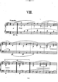 Twelve Piano Pieces, Op.26: Piece No.8 by Theodor Kirchner