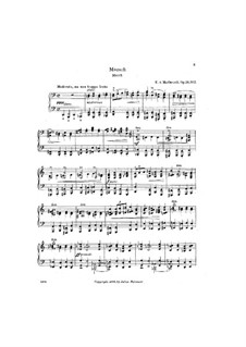 Four Pieces, Op.24: No.2 Marsh by Edward MacDowell