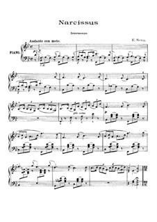 Water Scenes, Op.13: No.4 Narcissus by Ethelbert Woodbridge Nevin