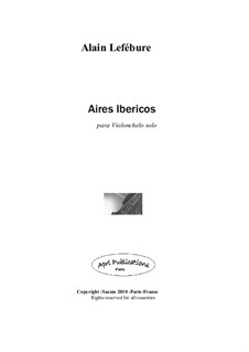 Aires ibericos: Aires ibericos by Alain Lefebure