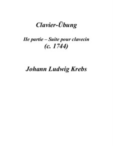 Suite for Harpsichord in C Major: Suite for Harpsichord in C Major by Johann Ludwig Krebs