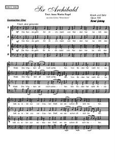 Sir Archibald, Op.109: Sir Archibald by Bernd Gehring