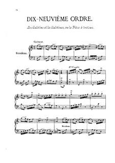 Dix-neuvième ordre: Dix-neuvième ordre  by François Couperin