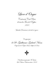 Premier livre d'orgue: No.1 introdução by Guillaume-Gabriel Nivers
