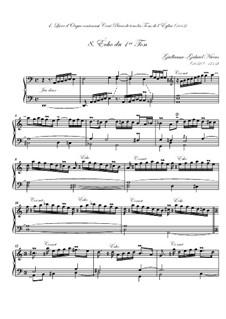 Premier livre d'orgue: No.8 Écho by Guillaume-Gabriel Nivers